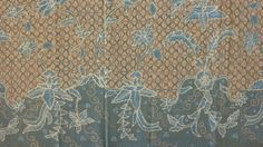 Contemporary Hand Made Batik from Kebumen with natural coloring.