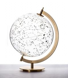 COEXIST - Glass globe