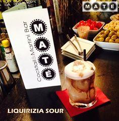 LIQUIRIZIA SOUR Wyborowa Vodka infusa con bastoncini di liquirizia con limone fresco e zucchero. Un cocktail per gli amanti della liquirizia