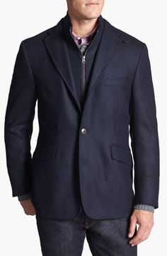 $425, Kroon Ritchie Sportcoat. Sold by Nordstrom. Click for more info: https://lookastic.com/men/shop_items/202392/redirect