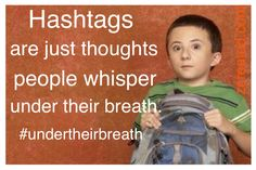 Hashtags are just thoughts people whisper under their breath. #undertheirbreath www.zcreated.com