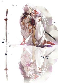 Sesshomaru & Rin  The childhood feels!