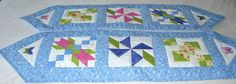 Quilted table runners by javin22 from the quiltingboard.com