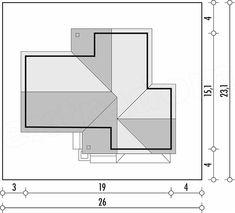 Rzut projektu Evita Optima wersja A Bar Chart, Floor Plans, Diagram, Bar Graphs, Floor Plan Drawing, House Floor Plans