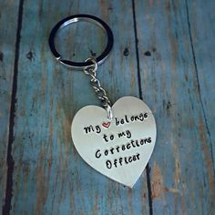 My Heart Belongs to my Corrections Officer by tagsandthingsbyk