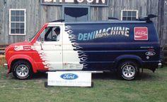 Ford Van Cool Vans, Custom Vans, Van Life, Hot Wheels, Vintage Cars, Automobile, Ford, Trucks, Scale Models