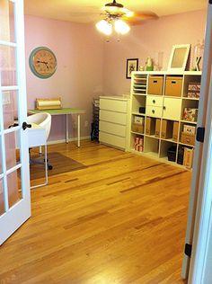 Home Office & Craft Room Combination #Ikea