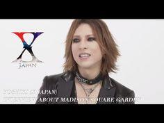 Yoshiki talks about X Japan's upcoming Madison Square Garden show - YouTube