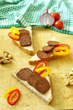 Vegan Vegetarian, Vegetarian Recipes, Healthy Recipes, Healthy Food, Vegan Burgers, Seitan, Meatloaf, Tofu, Tasty