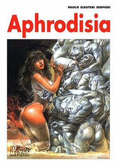 Aphrodesia by Paolo E. Serpieri. $33.89. Publisher: Heavy Metal Magazine (February 15, 2001). 56 pages. Publication: February 15, 2001. Published by Heavy Metal, 1997 edition. Printed in Spain                                                         Show more                               Show less