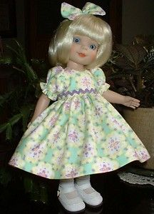 """SPRING ~ for 10"""" Patsy ~ Ann Estelle ~ McCall ~ by SuzyB ~ doll dress set.."""