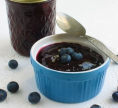Easy Versatile Homemade Blueberry Sauce: --- fabulous topping for pancakes, ice cream, cheesecake & more
