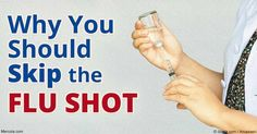 Mounting research suggests getting a flu shot may be ill advised for long-term health, and doesn't actually work in the first place. http://articles.mercola.com/sites/articles/archive/2016/10/11/flu-vaccination.aspx