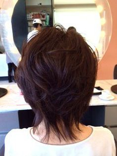 Medium Layered Hair, Short Hair With Layers, Medium Hair Cuts, Short Hair Cuts, Medium Hair Styles, Short Hair Styles, Square Face Hairstyles, Shag Hairstyles, Thick Coarse Hair