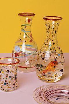 i love blown glass www.blueorangeblownglass.com