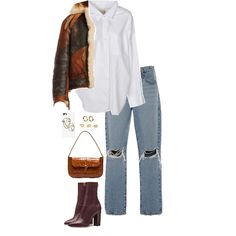 Fashion set what you want - created via Simple Outfits, Stylish Outfits, Cute Outfits, Fashion Outfits, Cool Style, My Style, Aesthetic Clothes, I Dress, Baddie