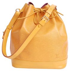 Louis Vuitton Epi Canvas Noe Gm 2459 Yellow Tote Bag. Get one of the hottest styles of the season! The Louis Vuitton Epi Canvas Noe Gm 2459 Yellow Tote Bag is a top 10 member favorite on Tradesy. Save on yours before they're sold out!