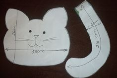 molde porta lixinhoo carros gato - Pesquisa Google
