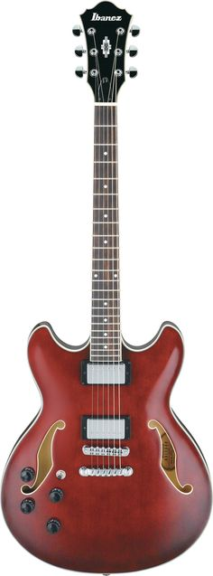 Ibanez AS73L: The AS is a semi-acoustic guitar built to tackle just about any genre of music you throw at it. The pickups are mounted into a sustain block for increased sustain and feedback elimination. 17th fret joint features comfortable access to higher notes. Left-handed model.-Wendybox.com