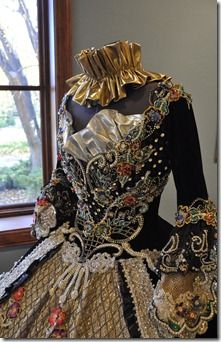 Made for the Society of Martha Washington Colonial Pageant and Ball in Laredo, Texas.