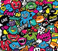 Happy Together / Skin Samsung Galaxy Ace Cool Wallpaper, Pattern Wallpaper, Wallpaper Backgrounds, Iphone Wallpaper, Wallpapers, Black And White Doodle, Posca Art, Sticker Bomb, Happy Together