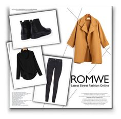 """Romwe 10/XI"" by nermina-okanovic ❤ liked on Polyvore featuring Paige Denim and romwe"