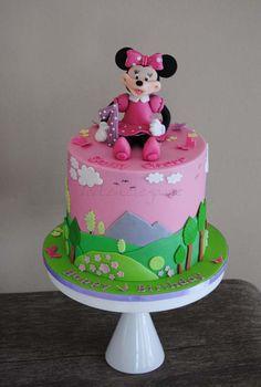 Minnie Maus Torte zum 1. Geburtstag Torte
