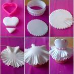 Wunderschöne einfache Muffin Deko für kleine Prinzessinnen!