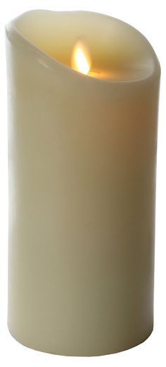 """7"""" Flameless Candle, Ivory 