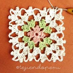 Transcendent Crochet a Solid Granny Square Ideas. Inconceivable Crochet a Solid Granny Square Ideas. Crochet Square Patterns, Crochet Motifs, Crochet Blocks, Crochet Squares, Crochet Shawl, Crochet Designs, Crochet Stitches, Knitting Patterns, Knit Crochet