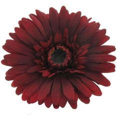 Deep Red Botanic Artistry Gerbera Daisy Stem
