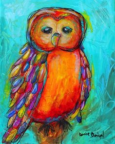 'Get Your Owl On' by Kerrie Evenson