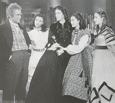The O'Hara's- Gerald, Ellen, Scarlett, Suellen, Careen