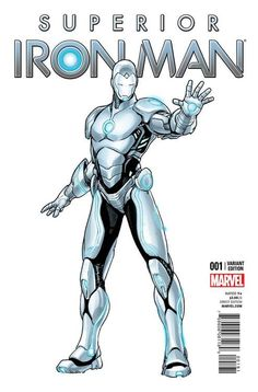 Superior Iron Man #1 and All New Captain America #1 variant covers by Sara Pichelli *