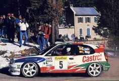 The Toyota Corolla WRC driven by Carlos Sainz and Luis Moya to win the 1998 Monte Carlo Rally. Rallye Wrc, Monte Carlo Rally, Monaco Grand Prix, Car Set, Car Travel, Rally Car, Toyota Corolla, Race Cars, Monsters