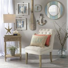 Rustic Coastal Living Room Decor order Home Decorators Collection Double Vanity opposite Coastal Decor For Shelves Coastal Bedrooms, Coastal Living Rooms, Living Room Decor, Dining Room, Seaside Bedroom, Beach Bedroom Decor, Nautical Bedroom, Room Kitchen, Kitchen Dining