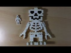 Lego Tutorial: How To Build a big LEGO skeleton