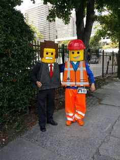 Emmet Lego Halloween costume