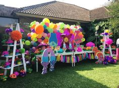 """125 Likes, 10 Comments - BLISS EVENTS (@blisseventsmty) on Instagram: """"Who's crazy now? Me. Crazy prepared! #blissevents #trollsparty #piñata"""""""