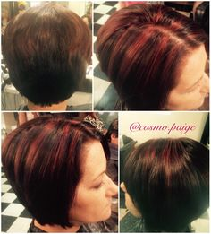 Perfect fall red! Absolutely love the dark hue against the bold red!