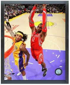 "Dwight Howard 2013-14 Rockets - 11"" x 14"" Photo in a Glassless Sports Frame"