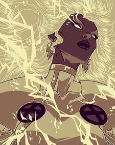 Comic Book Characters, Comic Books Art, Comic Art, Marvel Art, Marvel Heroes, Marvel Women, Ororo Munroe, Greatest Villains, Black Comics