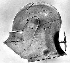 Armet, ca 1510-15, possibly British or Flemish steel Developed in Italy as a close fitting and highly protective cavalry helmet, armets were also made in England and Flanders following Italian ...