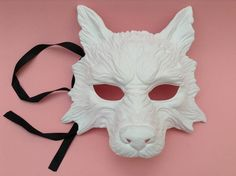 DIY White Wolf Masquerade mask Quality resin base Easy to | Etsy Pirate Halloween Costumes, Couple Halloween Costumes For Adults, Couple Costumes, Adult Costumes, Haunted House Props, Halloween Haunted Houses, Teen Wolf Songs, Snarling Wolf, Girl Group Costumes