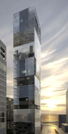 Mirror Tower / LAN Architecture,
