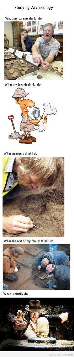 Archaeology - Exactly how it is! :D