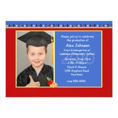 Kindergarten Graduation Party Invitation