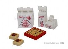 Chinese Food Accessories Kit @ brickbuilderspro