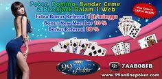 Capsa Susun Online : 99onlinepoker adalah salah satu dari sekian banyak nya Agen judi Capsa Susun Online Terbaik Indonesia yang memberikan Bonus & keberuntungan untuk setiap player mendapatkan kemenangan dalam suatu permainan yang tersedia melalui website kami ini