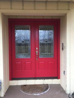Installed by Chapman Windows, Doors & Siding. Grand Entrance, Garage Doors, Windows, Outdoor Decor, Home Decor, Decoration Home, Room Decor, Interior Design, Home Interiors